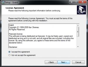 Grabit licentie overeenkomst