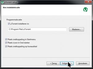 Waar uTorrent installeren